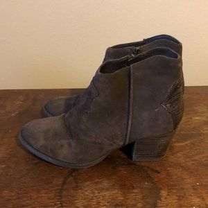 Marc Fisher Shoes - Dark brown suede booties